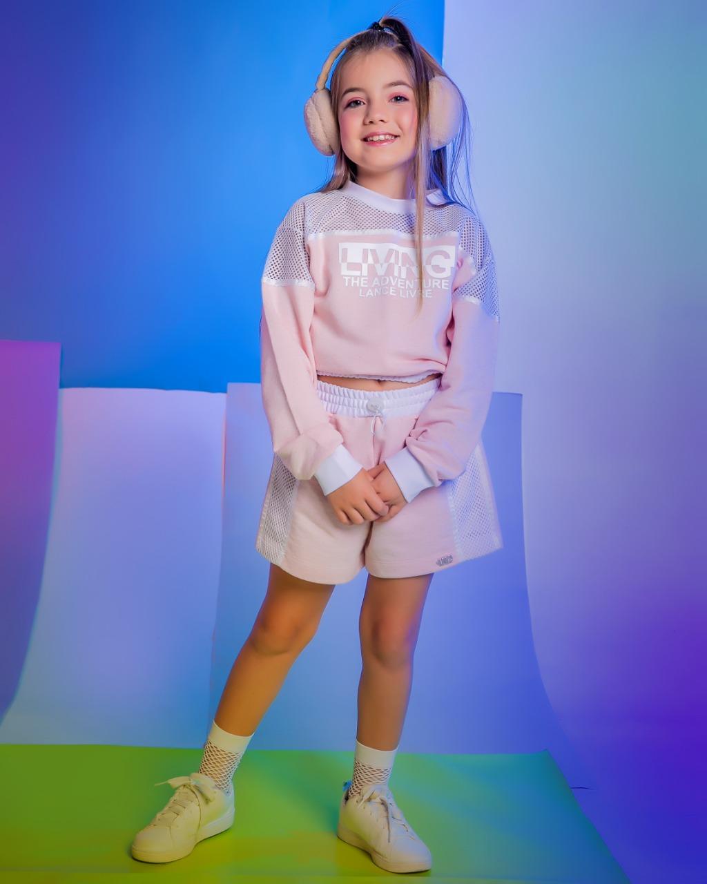 Conjunto Infantil Blusa e short