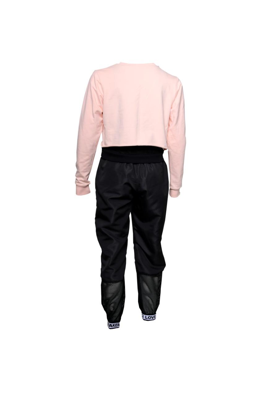 Conjunto Calça Jogger e Blusa Rosê