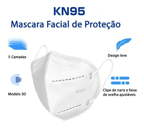 MASCARA DE PROTEÇÃO KN95