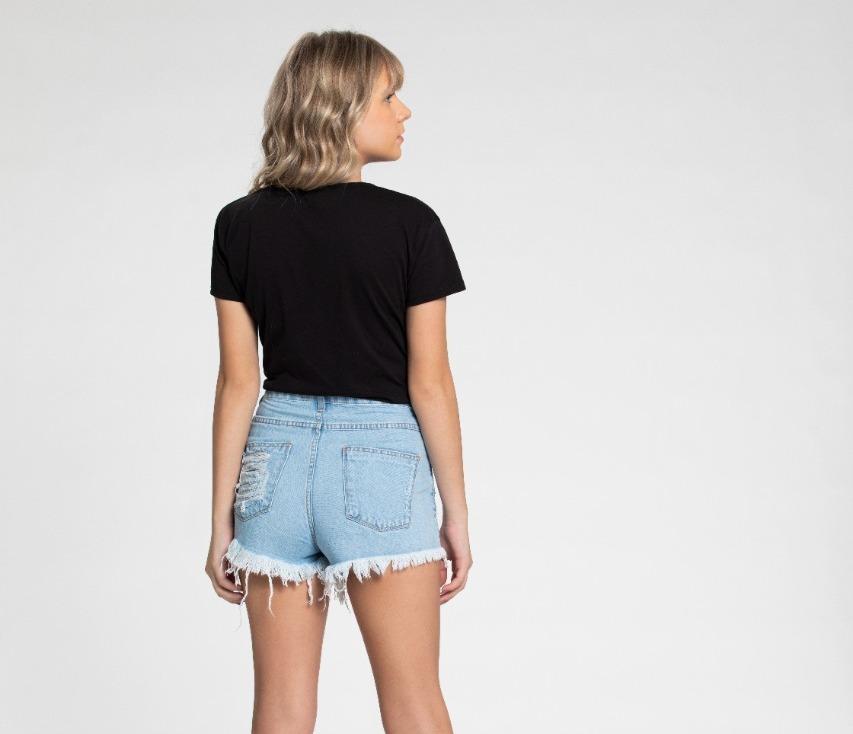 Short Confort Jeans Teen