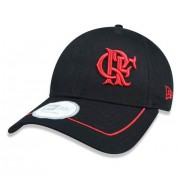 Boné aba curva Dark Flamengo 940 New Era