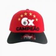 Boné aba curva Flamengo 6 vezes campeão Starter