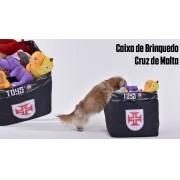 Caixa Vasco De Brinquedo Cruz De Malta