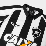 Camisa 1 Botafogo juvenil C/Patrocínio 2017/18 Topper