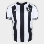 Camisa Botafogo Jogo 1 Kappa 2020/21 Tamanho Especial - Alvinegra