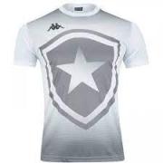 Camisa Botafogo Torcedor Infantil Kappa 2019/20 - Branca