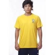 Camisa Brasil Basic CBF - Amarela