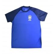 Camisa Brasil Basic CBF - Azul