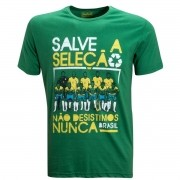 Camisa Brasil Salve a Seleção