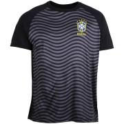 Camisa Brasil Waves CBF - Preto/Chumbo