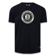 Camisa Brooklyn Nets core NBA - Preta