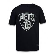 Camisa Brooklyn Nets NBA - Preta NEI