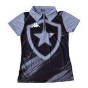 Camisa Polo Escudo Feminina Kappa