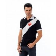 Camisa Polo Vasco Paris - Preto