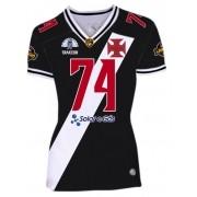 Camisa Vasco Almirantes Feminina 2020 - Preta