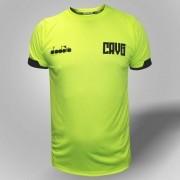 Camisa Vasco goleiro treino 2019 Diadora - Amarelo