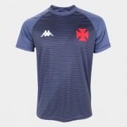 Camisa Vasco Supporter CRVG - GRAFITE KAPPA