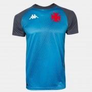 Camisa Vasco Treino Azul - Kappa 2020