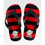 Chinelo Flamengo infantil manto oficial