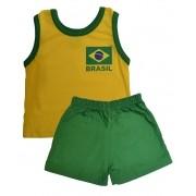Conjunto regata Brasil