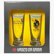Copo chopp Vasco da Gama 2 unidades na luva