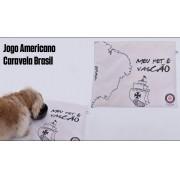 Jogo Americano Vasco Caravela Brasil