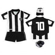 Kit 4 peças sublimado Botafogo