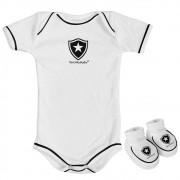 Kit Body branco 2 peças Botafogo