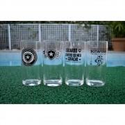 Kit Copo Long Drink Botafogo