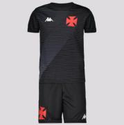 Kit Juvenil Vasco Supporter Preto - Kappa 20