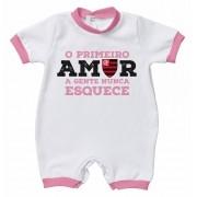 Macacão Flamengo primeiro amor