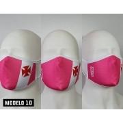 Máscar Vasco Rosa Escudo