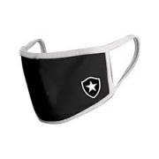 Máscara Botafogo Preta Escudo Lateral