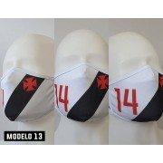Máscara Vasco Camisa 14 Cano - Modelo 13