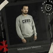 Moletom Vasco CRVG Cinza