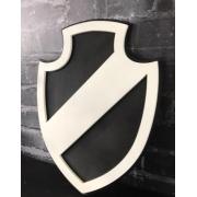 Placa Vasco Escudo Minimalista
