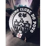 Placa Vasco MDF Clube Do Povo