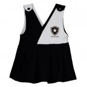 Vestido Botafogo bebê