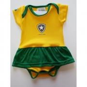 Vestido Botafogo bebê - Brasil