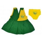Vestido Brasil 2 peças