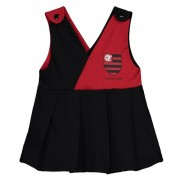 Vestido Flamengo bebê