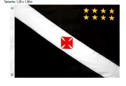 Bandeira Vasco Oficial 3 Panos