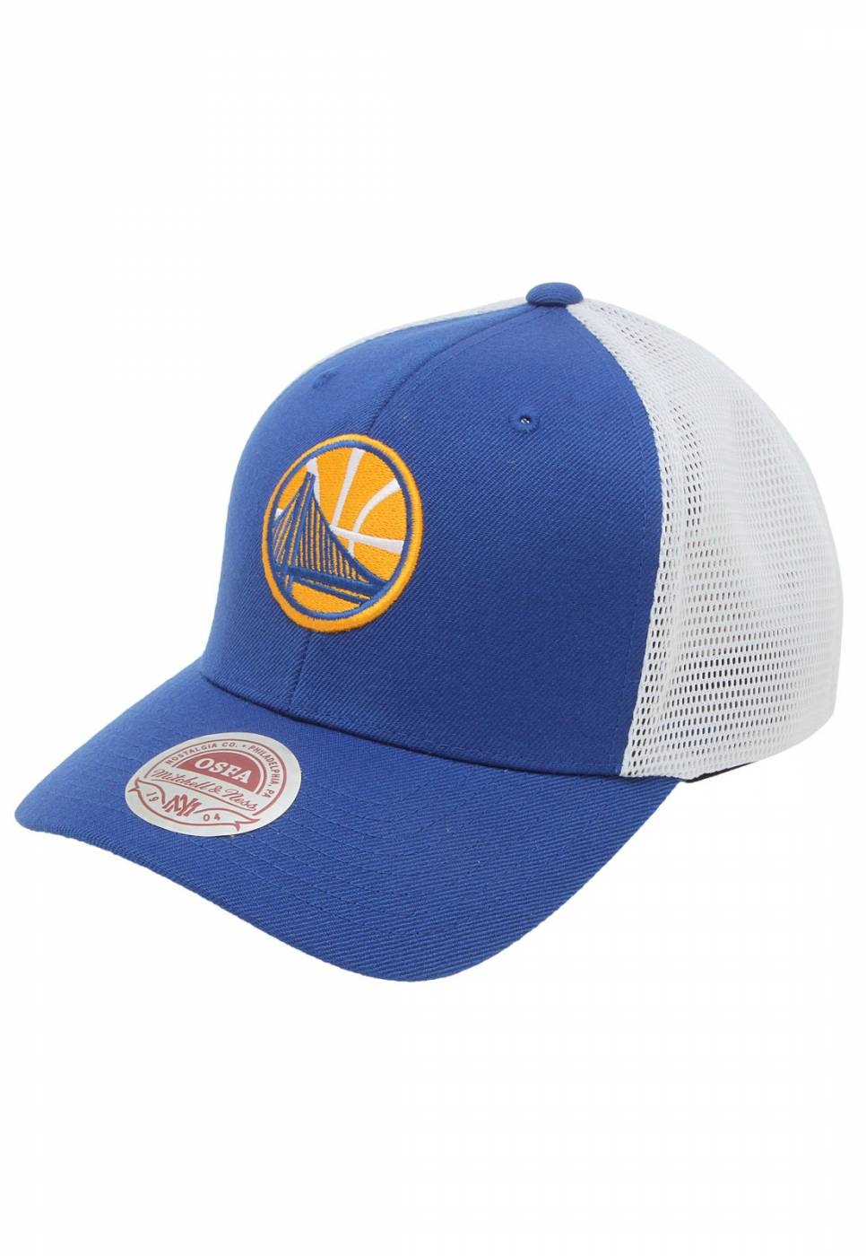 Boné aba curva Golden State Warriors Mitchell e Ness