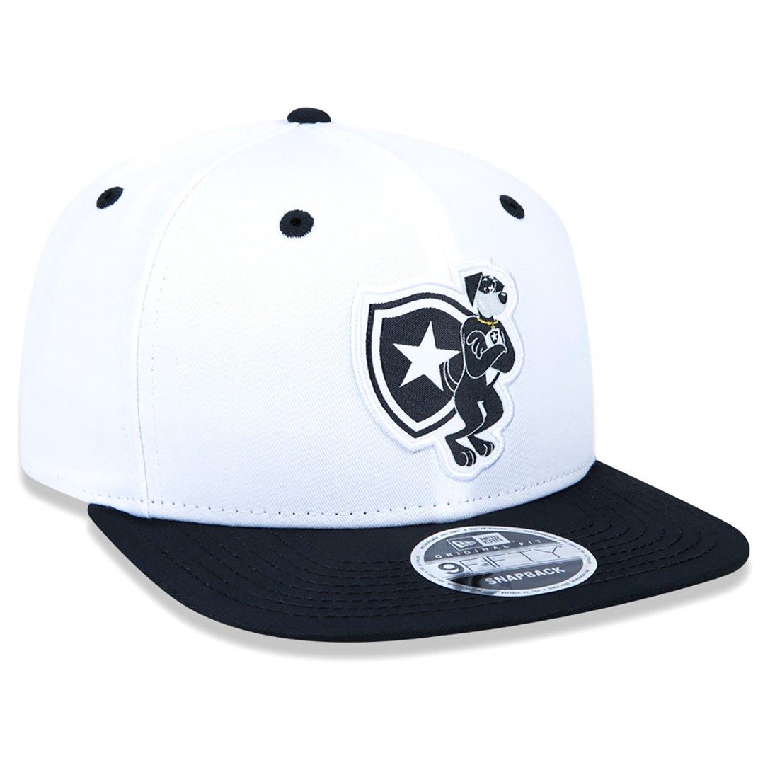 Boné aba reta Botafogo mascote 950 original fit New Era