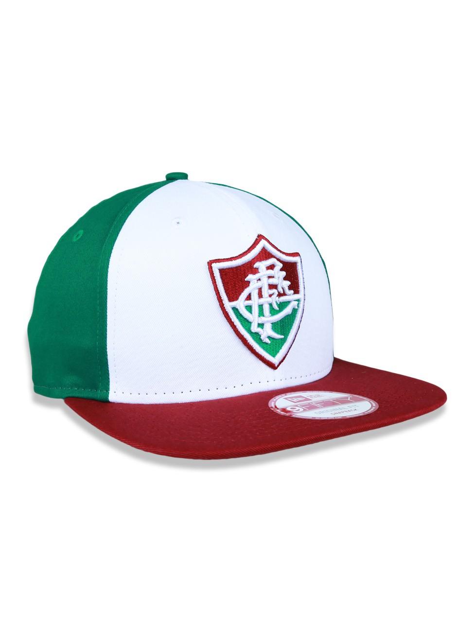 Boné aba reta Fluminense Shield 950 New Era