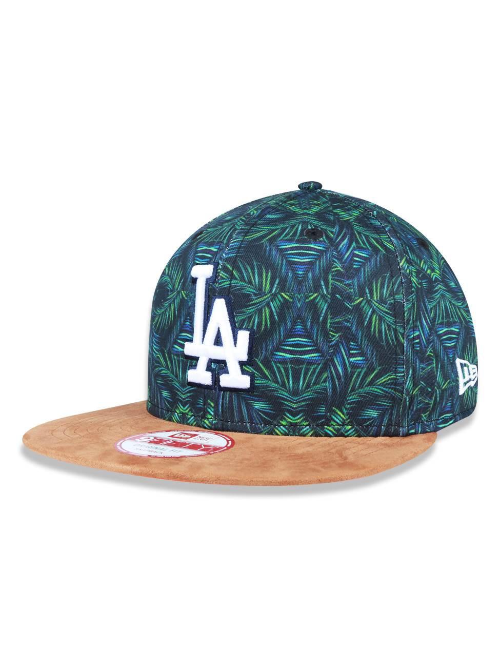 Boné aba reta Los Angeles Dodgers original fit 950 New Era NEI