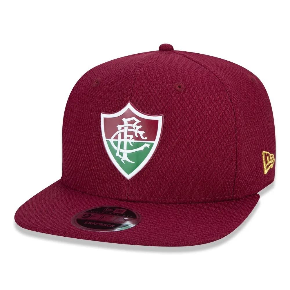 Boné Fluminense Aba Reta Grena