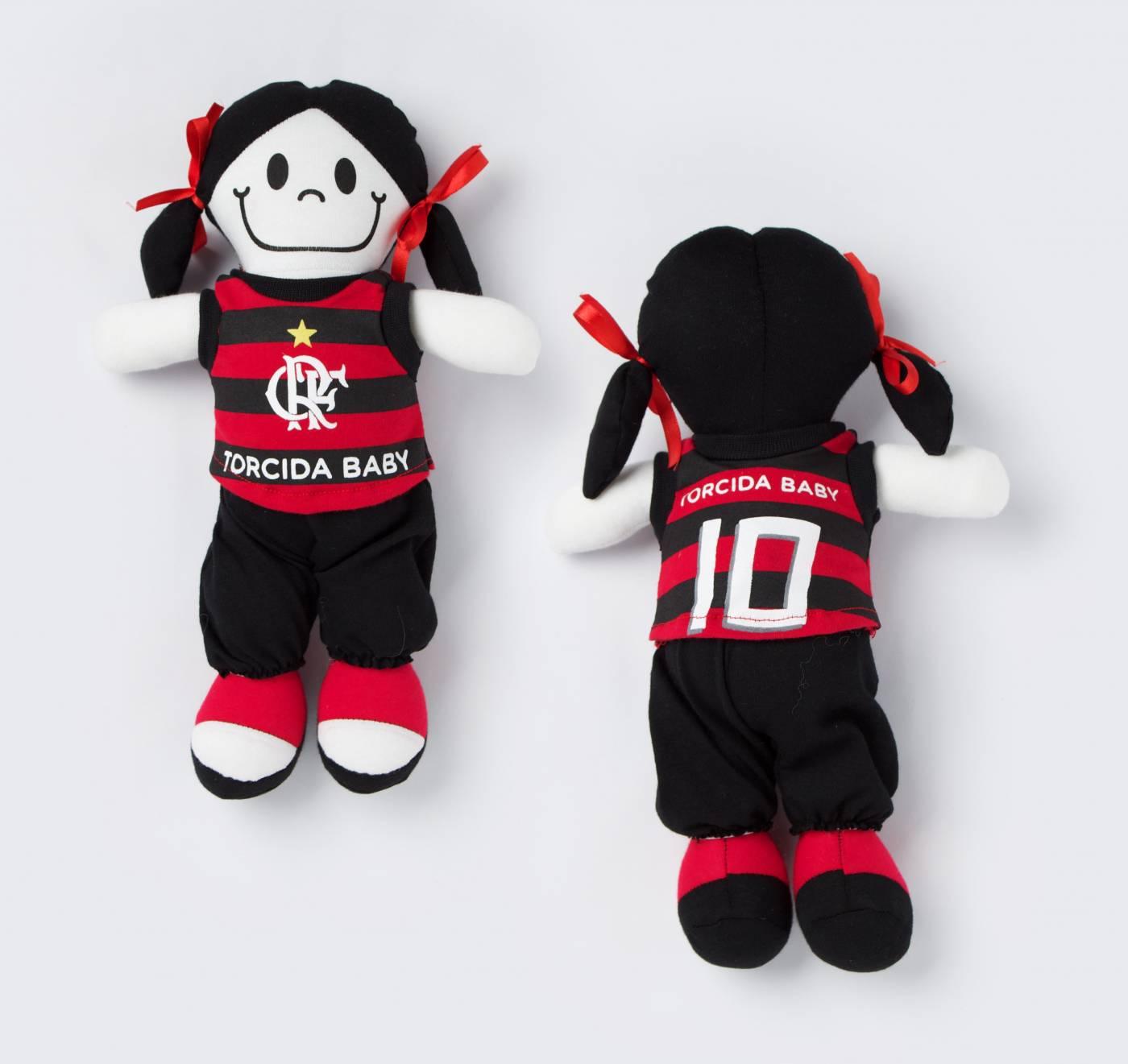 Boneca Flamengo infantil