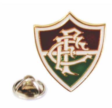 Boton Fluminense dourado escudo