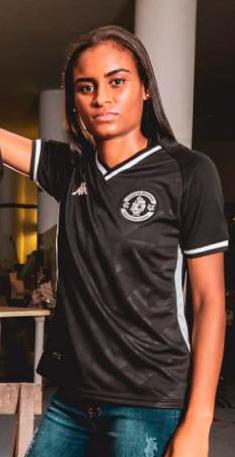 Camisa Vasco Timoneiro Of 3RD Feminino Kappa 2021 -
